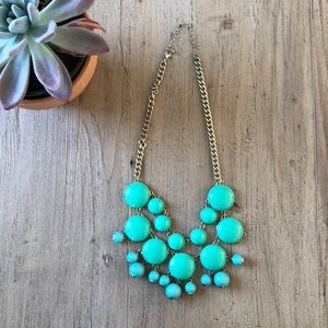 Jewelry - Turquoise bubble necklace